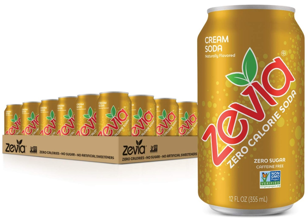 cream soda zevia 24 pack