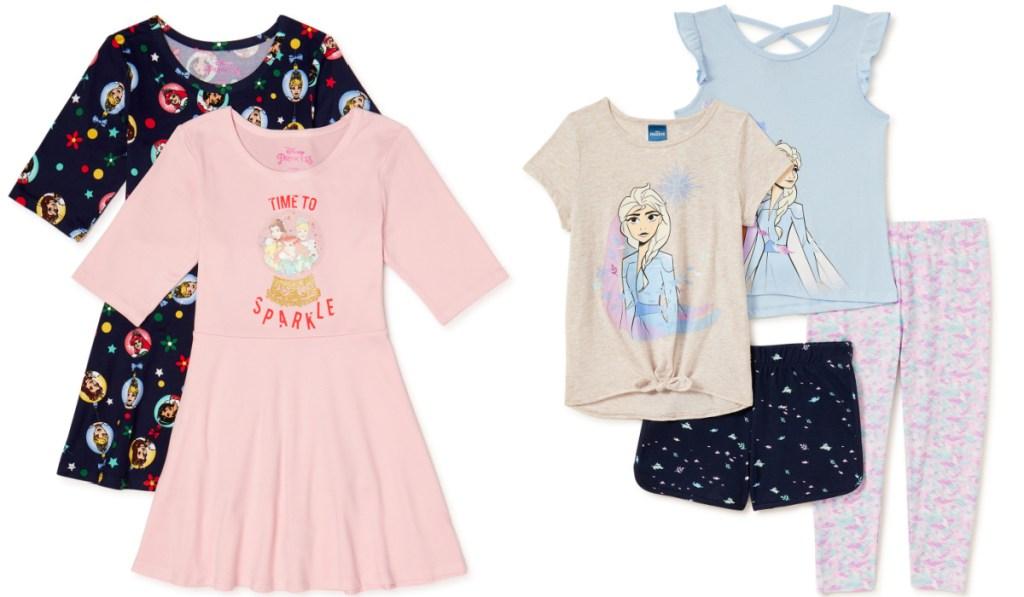 disney girls apparel