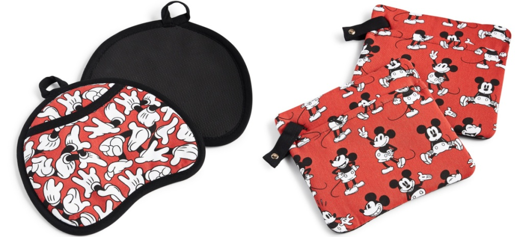 Mickey hands pot holders and Mickey Mouse Pot holders