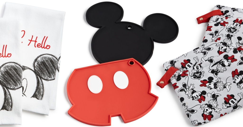 Mickey Mouse kitchen accessories