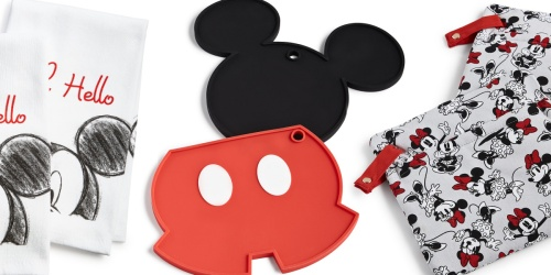 Disney Kitchen Towels, Pot Holders & More Only $7.49 on Macys.com (Regularly $18)