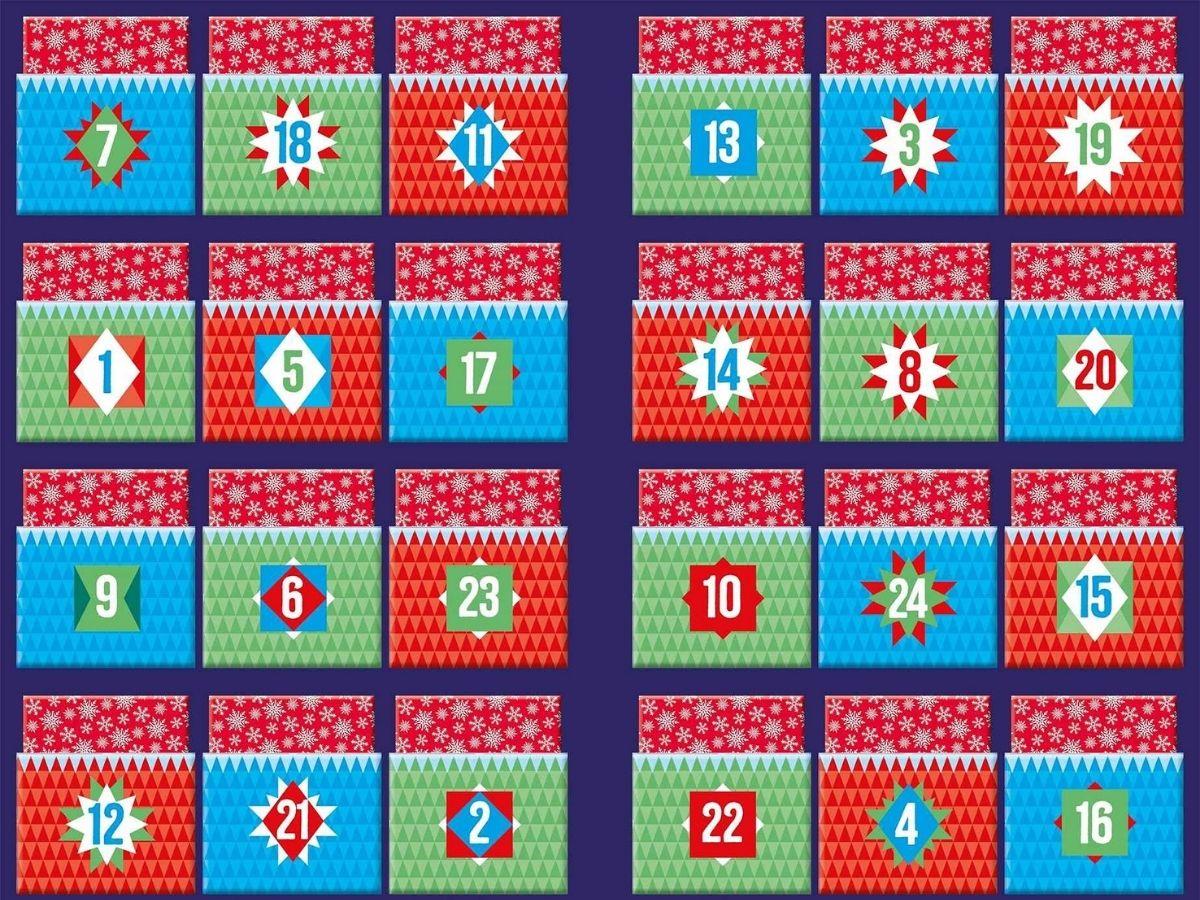 Disney advent calendar pockets