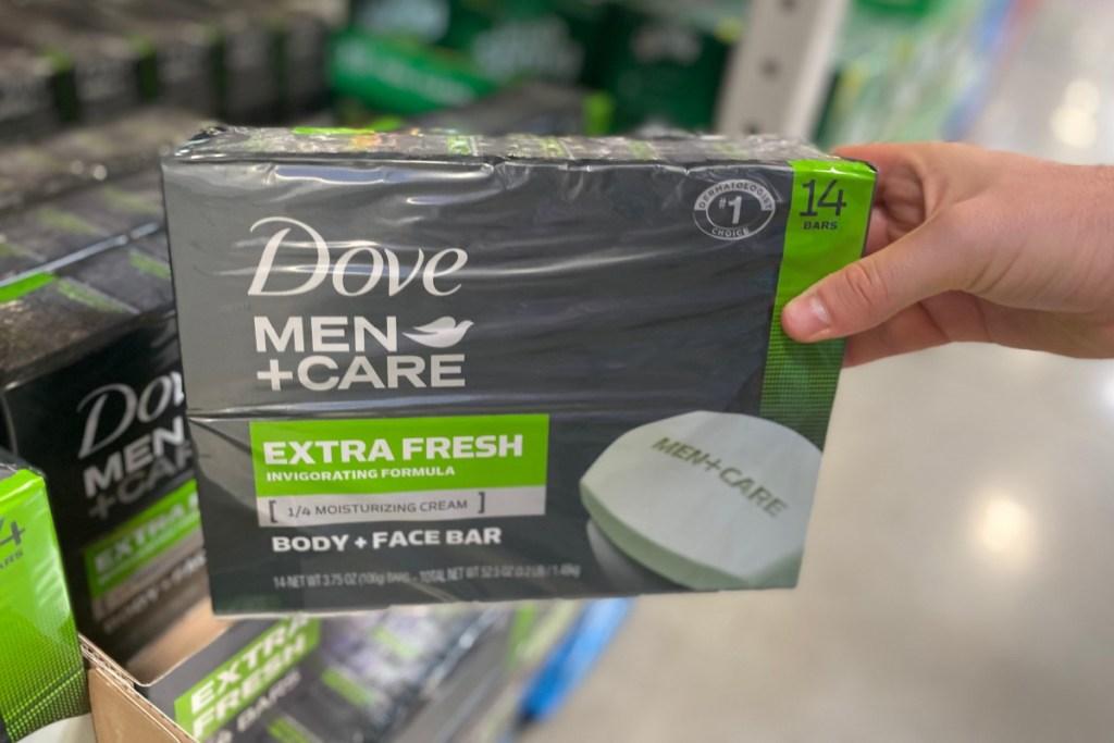 dove mens soap