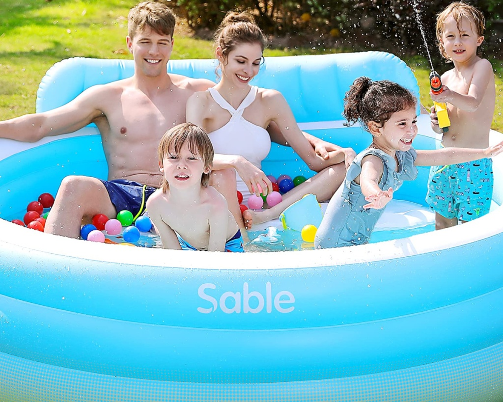 family in sable pool