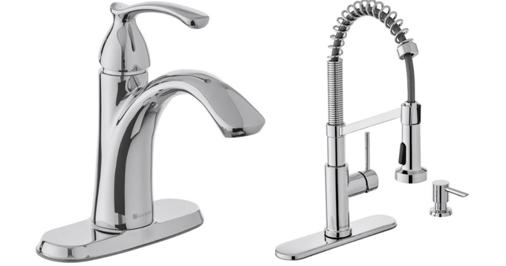faucets at The Home Depot