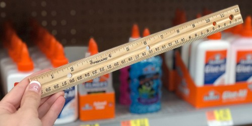 25¢ Walmart School Supply Deals – Glue Sticks, Crayons, Rulers & More!