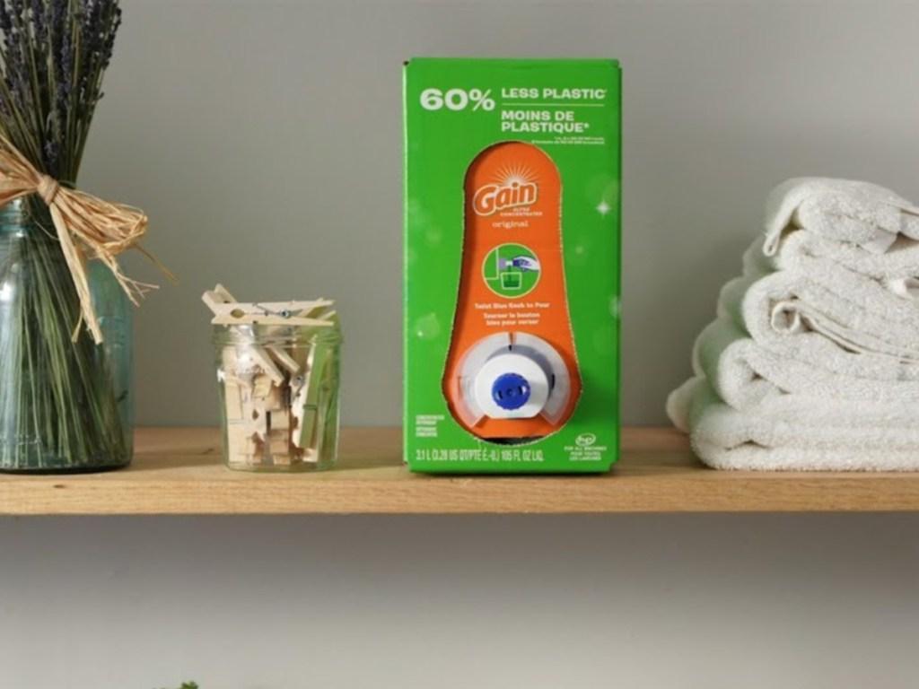 gain ecobox in laundry room