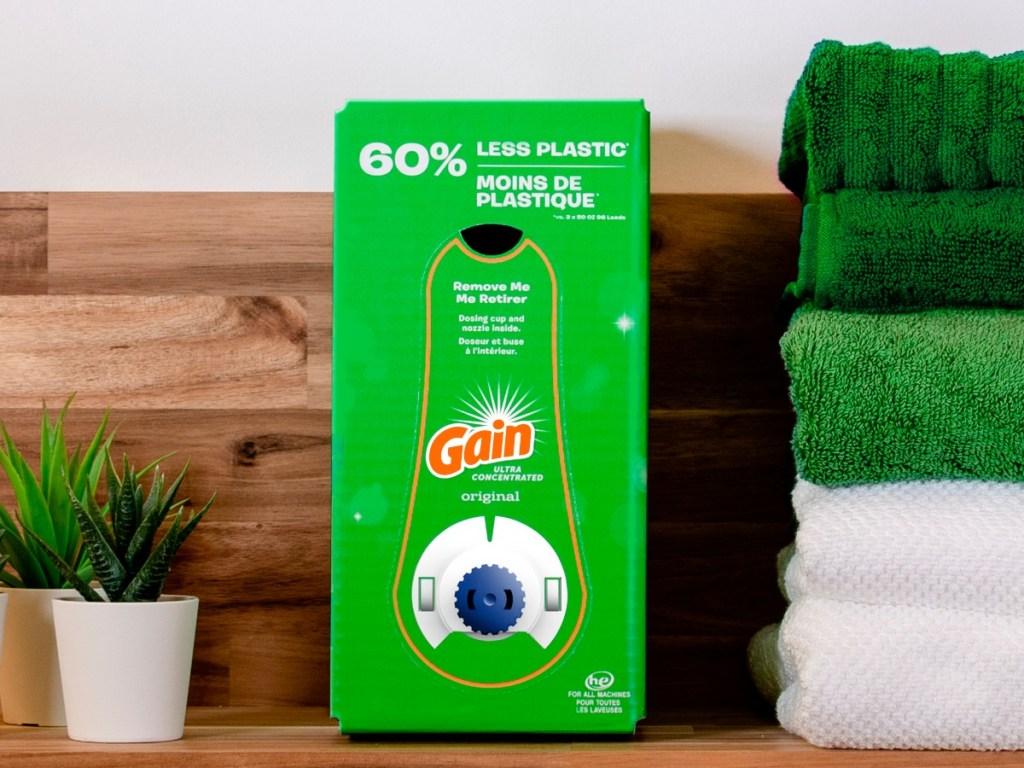 Gain Liquid Laundry Detergent 96-Load Eco-Box