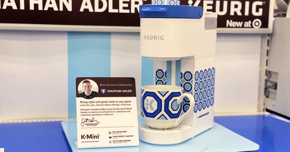 mini keurig machine on display at target
