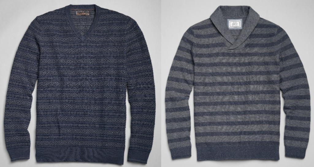 jos a bank mens sweaters