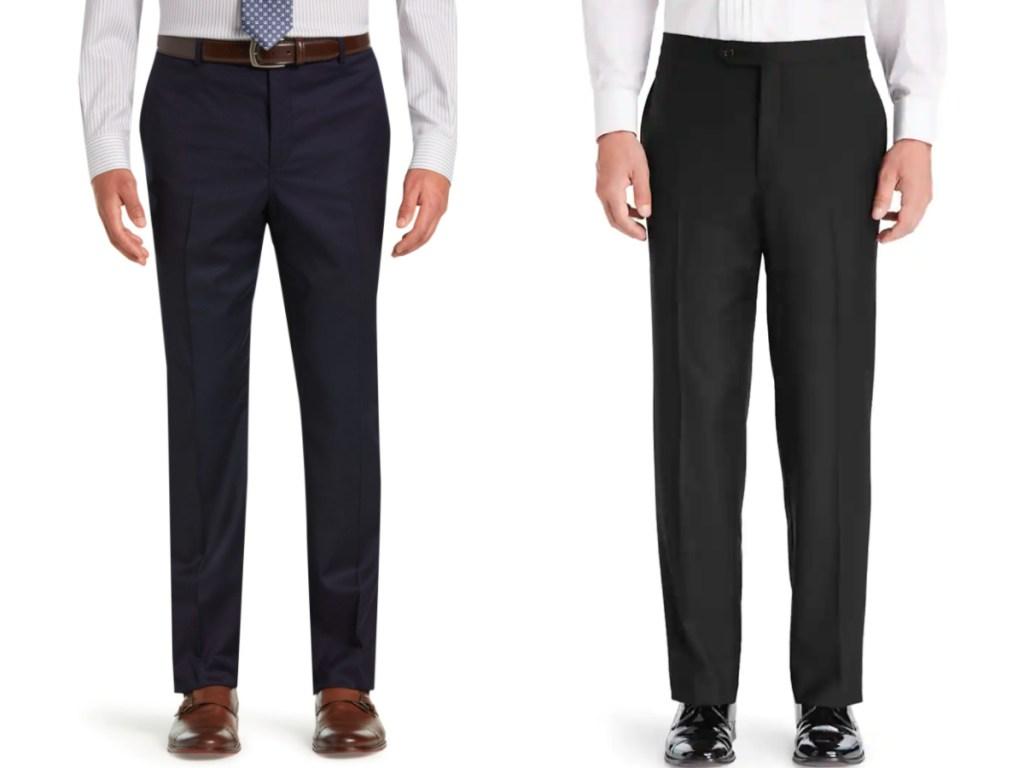 men wearing dress pants
