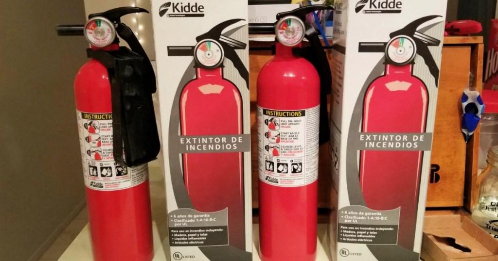 kidde fire extinguishers