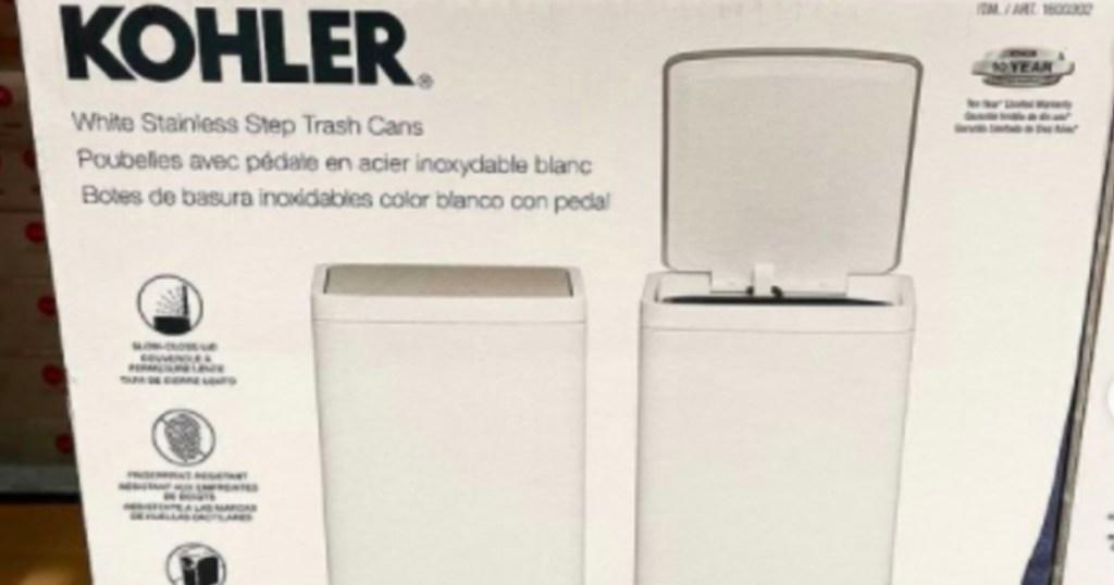 kohler trash cans