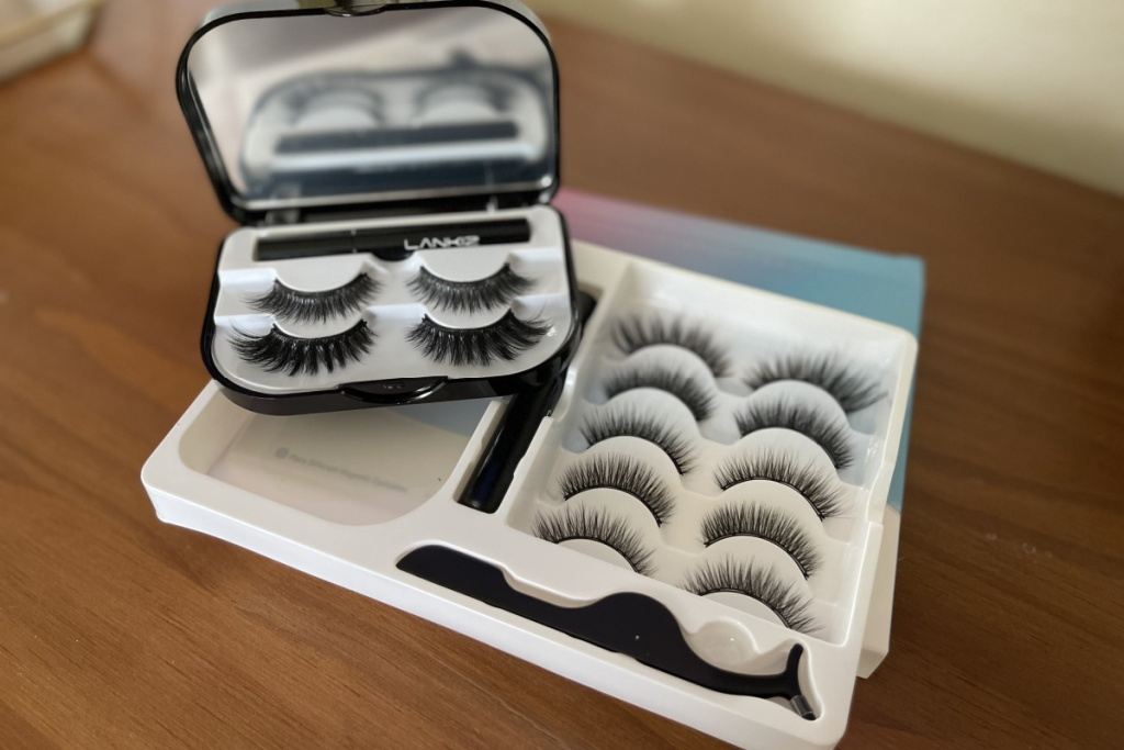 lankiz magnetic eyelashes set