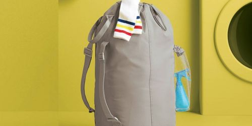 Room Essentials Backpack Laundry Bag w/ Storage Pockets Just $6 | Great for College Students
