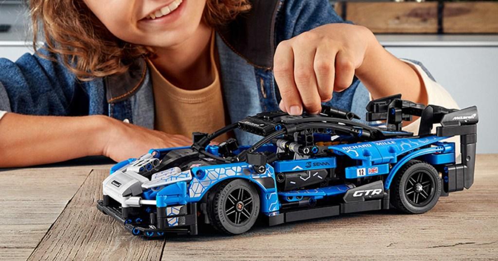 lego technic mclaren toy sports car