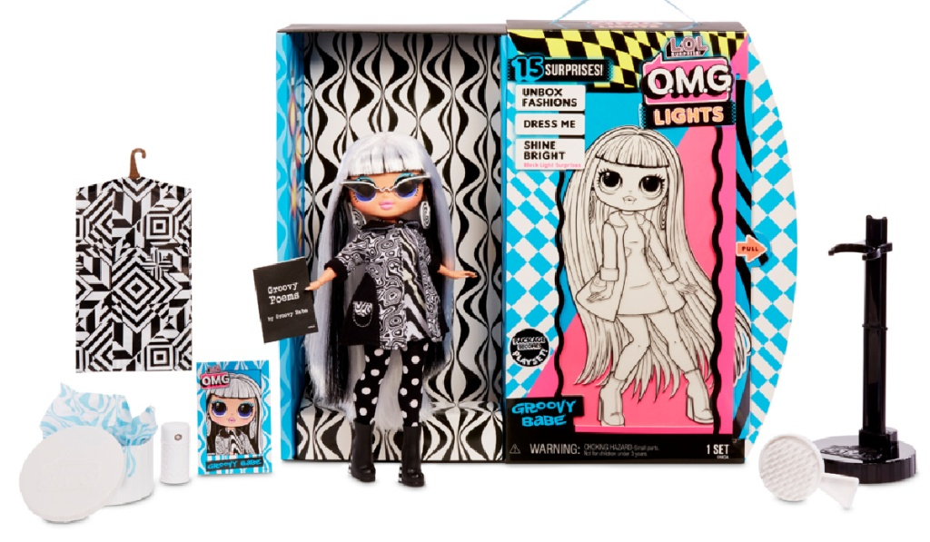 lol surprise groovy doll
