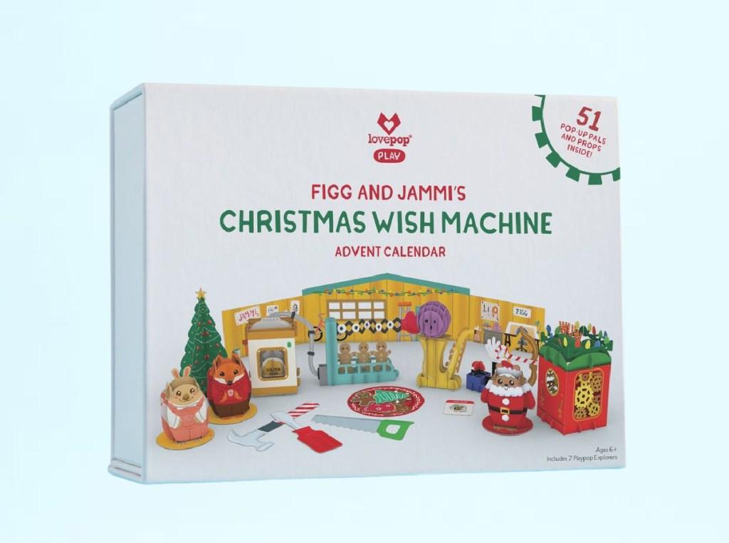 Christmas wish machine lovepop advent calendar