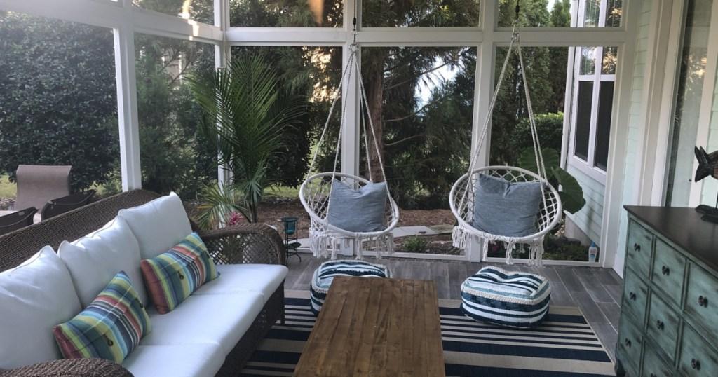macrame hammock swing chairs