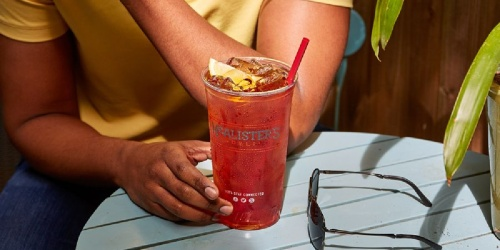 Score a FREE 32oz Tea from McAlister's Deli on July 22nd | No Purchase Necessary