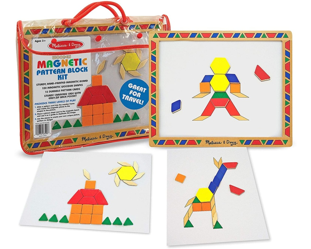 melissa & doug deluxe tangrams