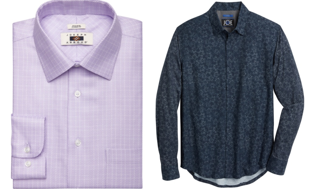 mens wearhouse dress shirts