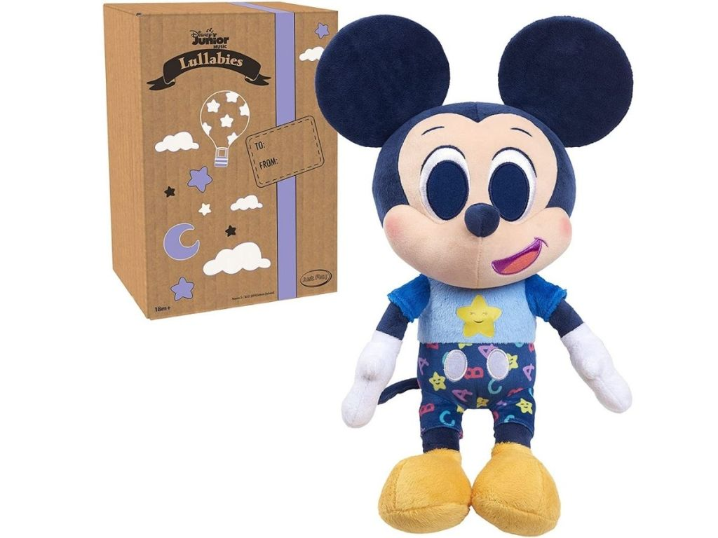 Mickey Mouse plush and package