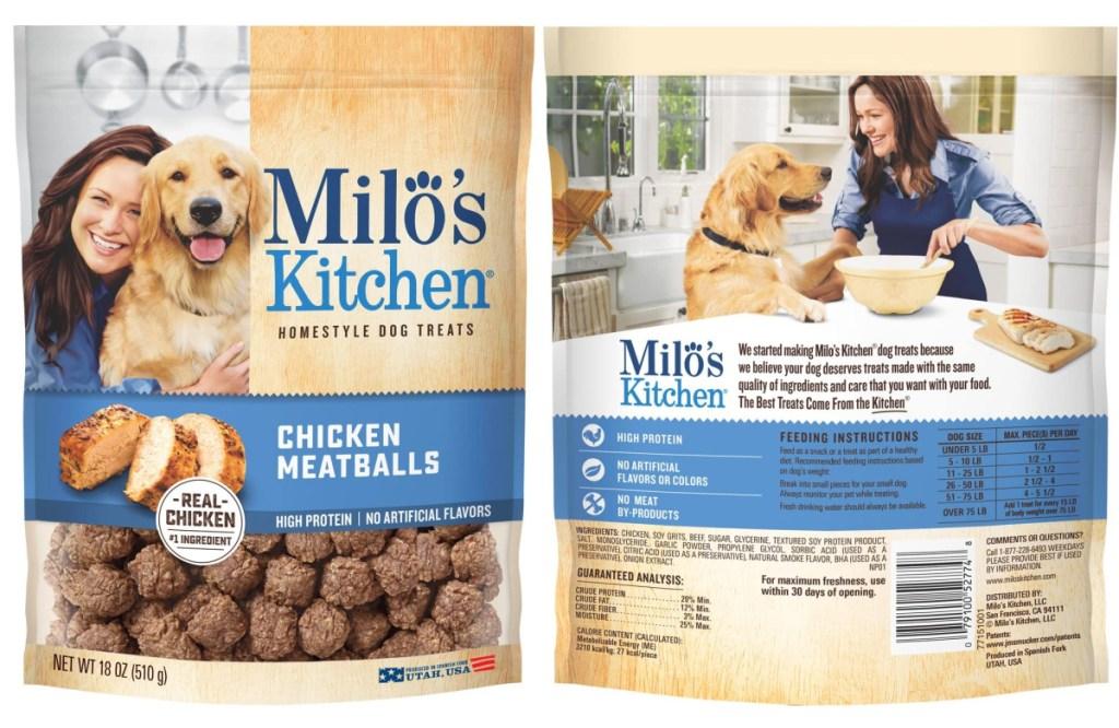 miloe kitchen dog treats