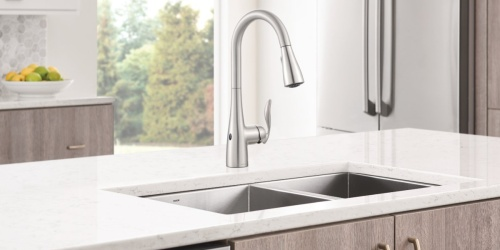 Up to 60% Off Moen Kitchen Faucets + FREE Shipping on Amazon