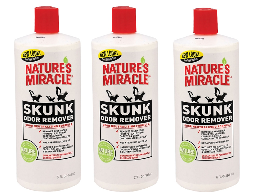 nature miracle skunk odor remover