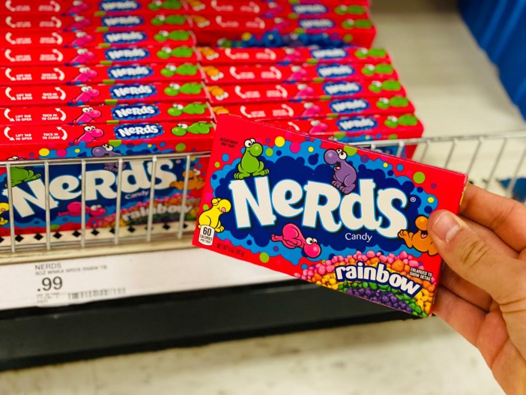 nerds display at target