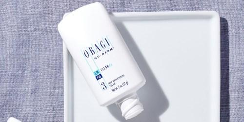 Over 50% Off Obagi Skin Brightening Cream + FREE Shipping on Amazon | Reduces Dark Spots, Pores & More
