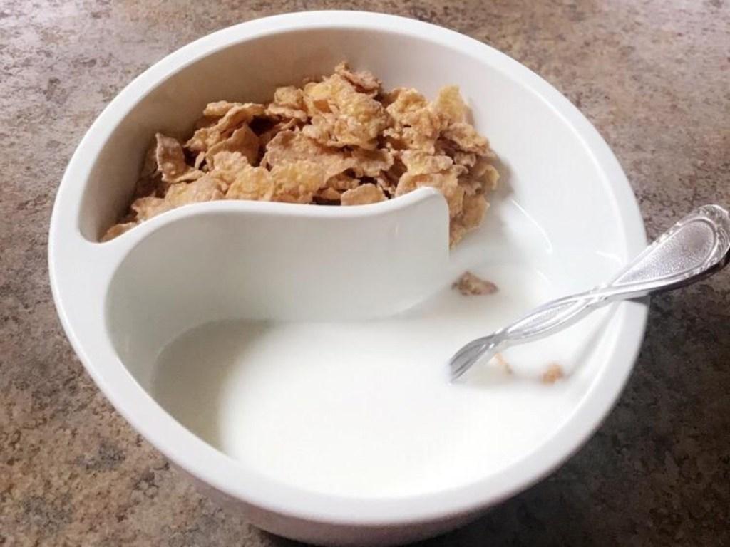 Obol divided bowl