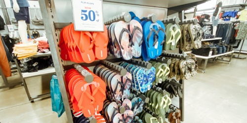 Old Navy Flip Flops, Sandals, & Shoes for the Family from $1.97