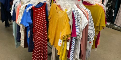 Old Navy Men's & Women's Apparel from $3.97 (Regularly $10)   Tanks, Jeans, Dresses & More