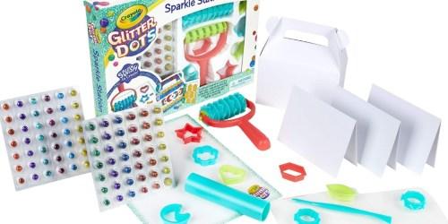 Crayola Glitter Dots Sparkle Station Craft Kit Only $6.99 on Kohl's.com