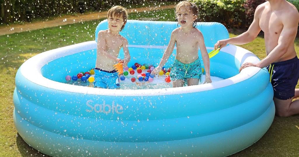 sable round swimming pool