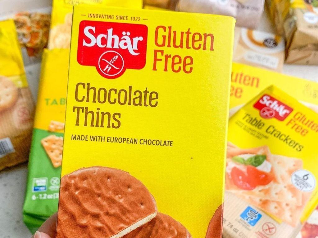 schar chocolate thins