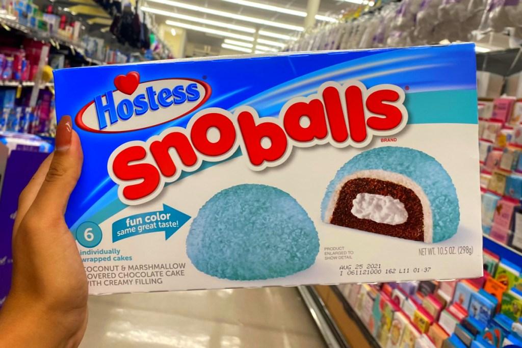 sno balls in super market