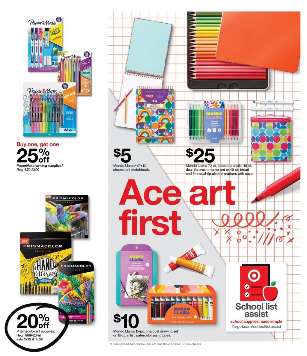 target ad scan