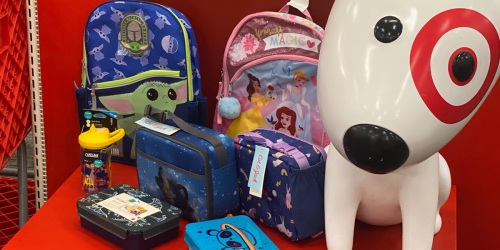Target School Supply Deals: 20% Off Character Backpacks + Notebooks & Crayons from 25¢