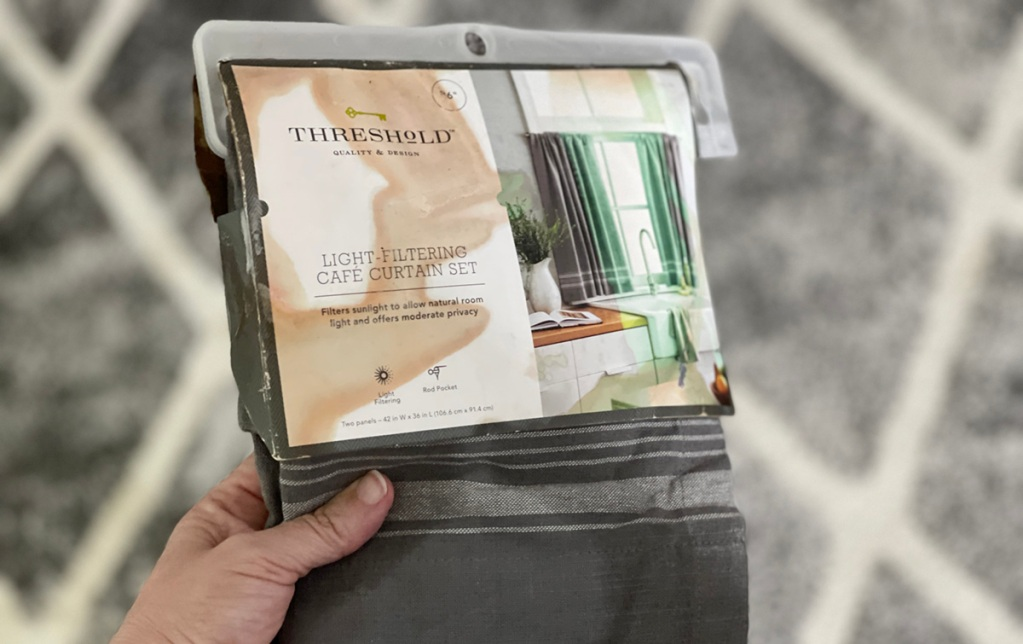 target threshold curtains