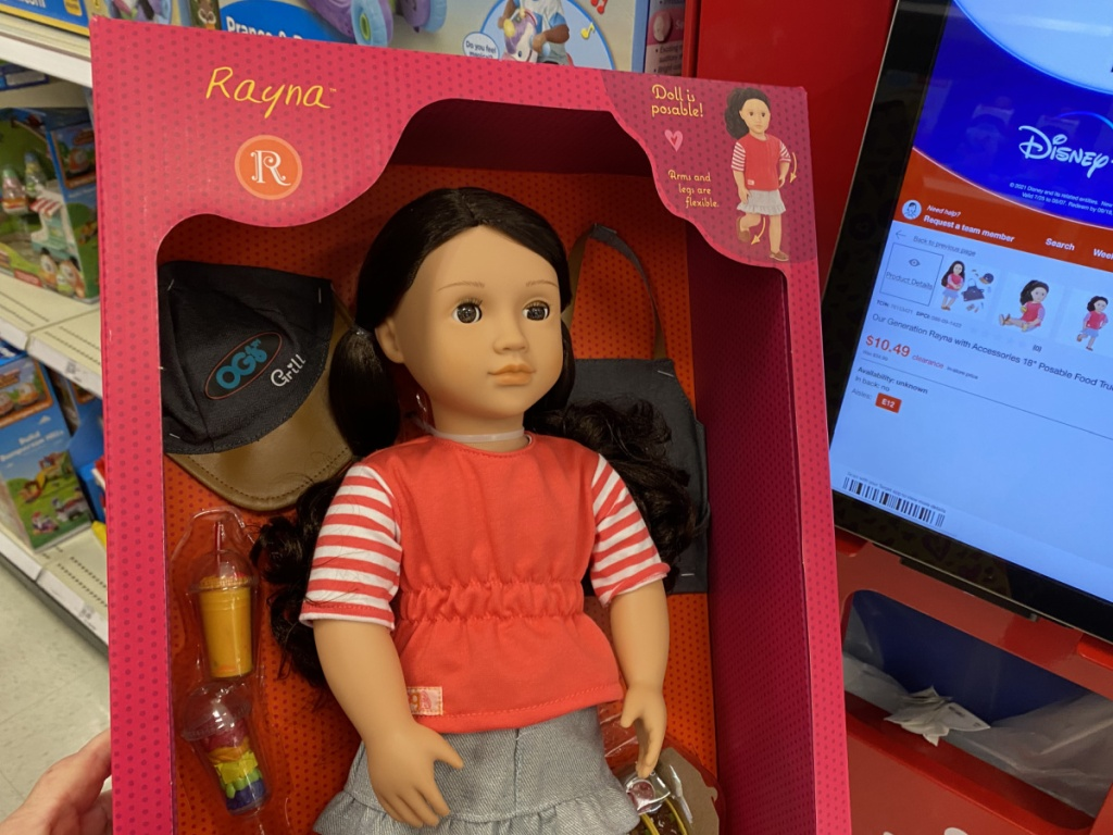 our generation doll at target