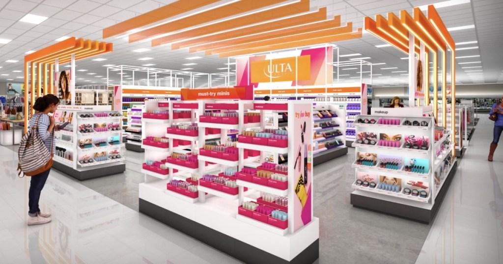 Ulta Beauty store inside Target