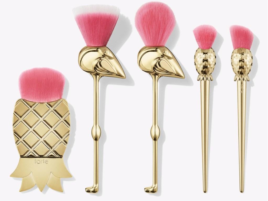 flamingo brush set