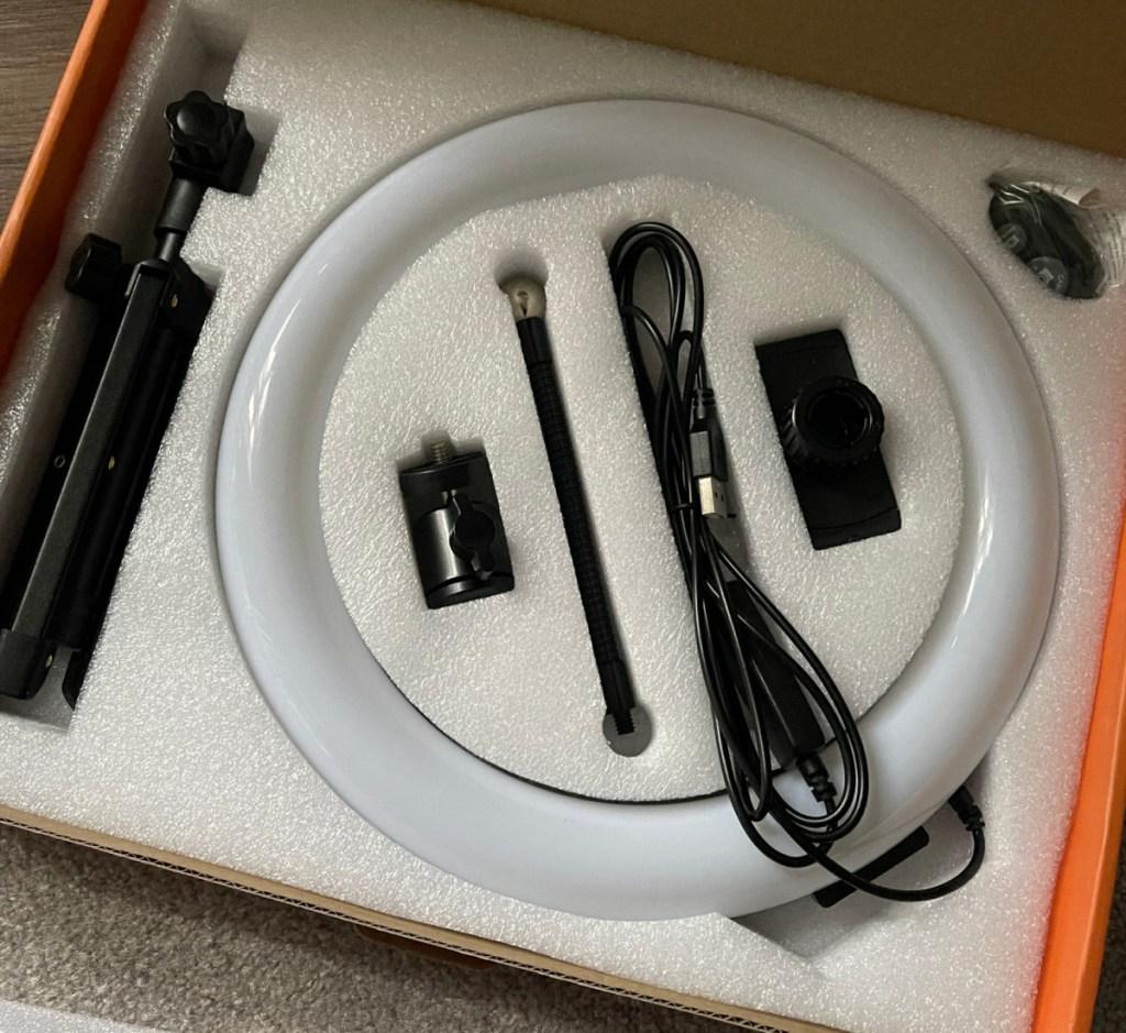 techvilla ring light box