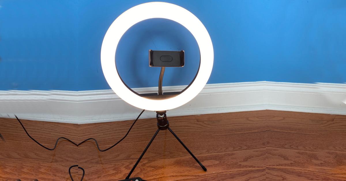 techvilla ring light