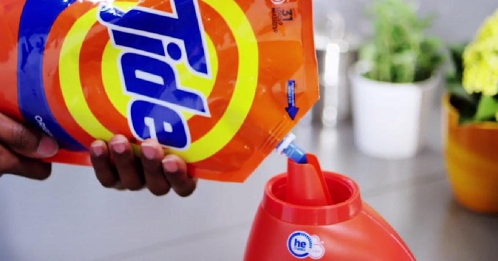 tide detergent pouch