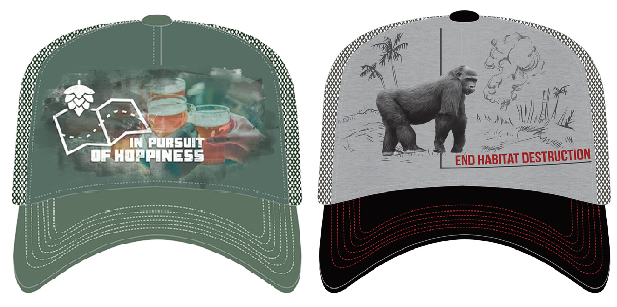trucker hats from the mountain