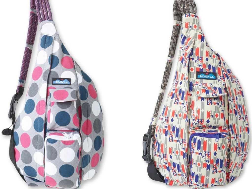 two Kavu rope bags